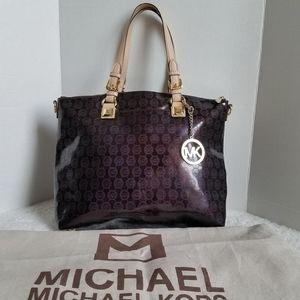 Large Michael Kors Patent Leather Purse